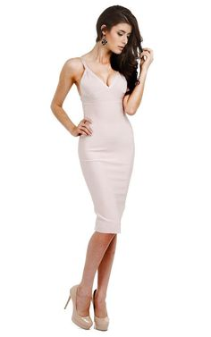 Classic and very Timeless Midi Bandage Dress