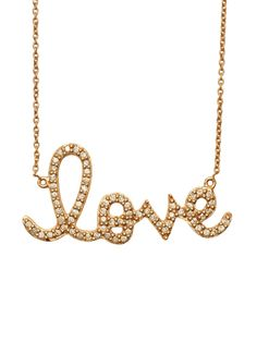 Sydney Evan Rose Gold and Diamond Large Love Pendant Necklace at London Jewelers! (516) 627-7475