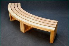 Rochford FSC timber curved benches