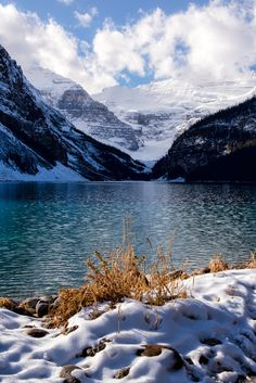 The Blues and Golds of Lake Louise (Banff, Alberta) by Kristin Repsher / 500px