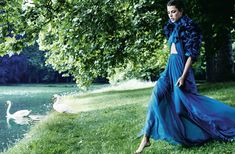 Secrètement Charlotte | Charlotte Casiraghi by Mario Testino for Vogue Paris September 2011