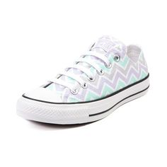 Shop for Converse All Star Lo Chevron Sneaker in Mint Lavendar at Shi by Journeys. Shop today for the hottest brands in womens shoes Converse All Star, Mode Converse, Converse Sneakers, Adidas Shoes, Ankle Boots, Shoe Boots, Shoes Heels, Pumps, Dream Shoes