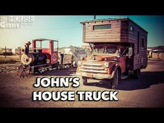 House Truck Tour: John's House Truck - YouTube