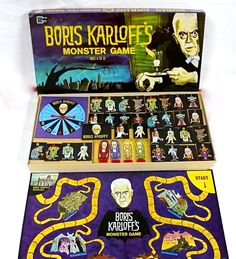 vintage monster board game. Looks neat, but I do not recall this game
