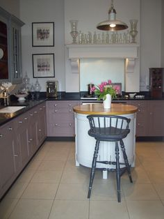 Chalon, Harrogate. Designer Collection Aga Kitchen, Designer Collection, Cool Kitchens, Showroom, Furniture Design, Dining, Kitchen Designs, Storage, Table