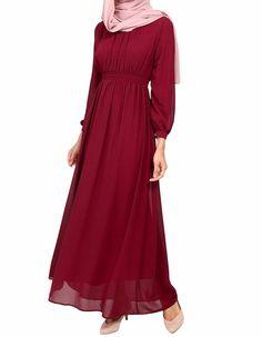 Poplook chiffon maxi dress