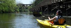 Crooked River Adventures - kayaking and canoeing along the Cuyahoga