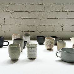 We're a little shy and hiding out the back but in good company none the less.  Repost from @craftvictoria ||||||||. Make the swap from paper cup to crafted object - so many to choose from and all are made by local makers! ☕️ Link in the profile. Work in image: @adceramics @sophie_harle @sophiejanemoran @vanessa_lucas_ceramics #owenrye  @sarahschembri_ceramics @janettakerrgrant @sandrabowkett @sharonalpren @cone11ceramics #terunobuhirata #craft #handmade #makers