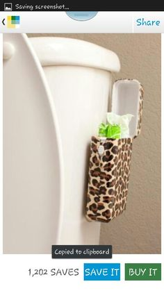 Tbox Tampon Holder cute idea if we get our own bathroom or share one with neighbors My First Apartment, Apartment Living, Apartment Hacks, Dorm Bathroom, Bathrooms, Ideas Hogar, To Infinity And Beyond, Organization Hacks, Bathroom Organization