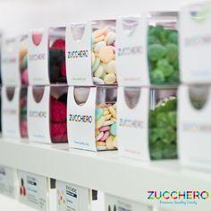 Sollecitazioni cromatiche, visive e olfattive, stile minimalista ed il giusto mix di colori e luci ti aspettano in tutti gli Zucchero Store. Aeroporti di Roma: Fiumicino - Ciampino Stazione Tiburtina Stazione Ferroviaria Centrale di Napoli  L'ECCELLENZA DI UNA BOUTIQUE DEL FASHION-FOOD TARGATO MADE IN ITALY! PREMIUM QUALITY CANDY #ZUCCHEROCANDY  www.zuccherocandy.it