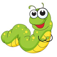 cartoon illustration of funny insects Cartoon Pics, Cartoon Drawings, Cute Cartoon, Cute Drawings, Cartoon Characters, Fruit Coloring Pages, Colouring Pages, Felt Animals, Baby Animals