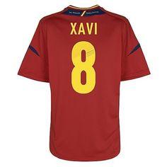 e67933501cb Xavi de la Selección Española Eurocopa 2012 Camiseta fútbol  852  - €16.87
