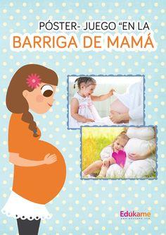 Un póster donde recoger el vínculo afectivo que se crea con tu hijo durante el embarazo. http://edukame.com/node/17101