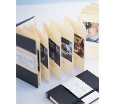 Photobook ideas: baby timeline