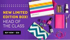 Birchbox Limited Edition: Back to School Box - http://mommysplurge.com/birchbox-limited-edition-back-to-school-box/