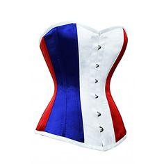 CD-617 - Flag of France Corset - Made to Order - *Promotion!*    For my husband! :)