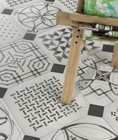 Ceramic flooring | Vodevil | Wilder Sombra | VIVES Cerámica. Check it out on Architonic