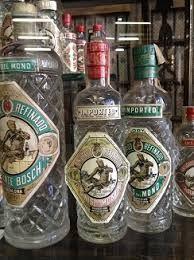 Botellas antiguas de #AnísDelMono dulce y seco