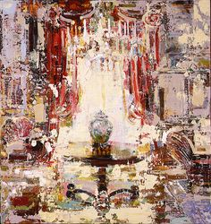 Untitled (urn and chandelier)  I need to start painting again...