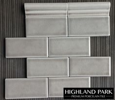 """Dove Gray 3x6"""" Crackle Subway Tile available online from TheBuilderDepot.com for $8.50 square foot."""