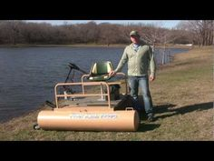 The Best Mini Pontoon Boat for Fishing - YouTube