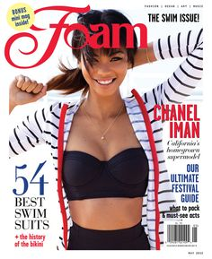 Now...Foam is not a British publication,it is in fact Dutch...but Chanel Iman look so cute on the cover I had to add it to my board - we are both in the EU after all!