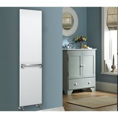 Add the finishing touches to your home with designer radiators. We have hundreds of models to suit any room, from all the leading designer brands. Vertical Radiators, Designer Radiator, Tall Cabinet Storage, Fresh, Bathroom, Furniture, Home Decor, Washroom, Decoration Home