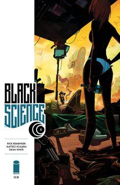 Black Science 4. Art & cover by Matteo Scalera & Dean White