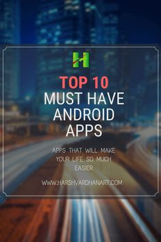 Have Android Apps-Top 10 Apps to Increase Productivity Find out must have android apps out must have best android apps all time-top 10 must have android free android Android Apps Best, Android Phone Hacks, Android Art, Smartphone Hacks, Android Watch, Free Android, Android Secret Codes, Android Codes, Android Developer
