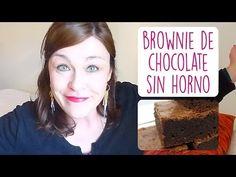 BROWNIE AL MICROONDAS I Receta espectacular de brownie de chocolate sin horno ♥ Qué cositas - YouTube