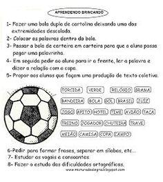 Diversas Atividades Infantis sobre a Copa do Mundo!!