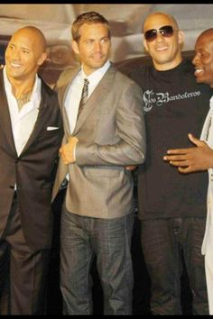 The rock with the fast and the furious cast