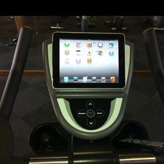iPad Fitness.