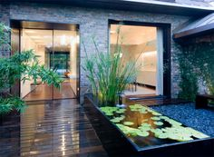 Garden, Raised Pond Design Ideas For A Fascinating Backyard Solar Pond Pump Water Feature Pumps Garden Photos Residential Landscape Design And Filters Border Ideas Supplies Yard Ponds Build Lands: Amusing Placate Garden Ponds Design Ideas Garden Pond Design, Landscape Design, Landscape Architecture, Modern Pond, Garden Modern, Modern Backyard, Modern Deck, Modern Wall, Design Fonte