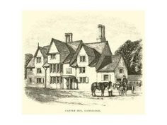 Giclee Print: Castle Inn, Cambridge : 24x18in Cambridge Pubs, Wall Canvas, Canvas Prints, A4 Poster, Posters, Poster Size Prints, Castle, Find Art, Framed Artwork