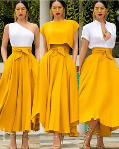 Pin by Brunely on Tenue fitness et bottle Classy Dress, Classy Outfits, Chic Outfits, Dress Outfits, Dress Up, Fashion Outfits, Womens Fashion, Long Skirt Outfits, Dope Outfits