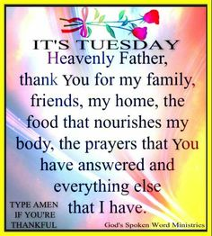 It's Tuesday day good morning tuesday tuesday quotes tuesday images good morning… Tuesday Quotes Good Morning, Happy Tuesday Quotes, Thursday Quotes, Good Morning Messages, Morning Qoutes, Sunday Prayer, Daily Prayer, Morning Blessings, Morning Prayers