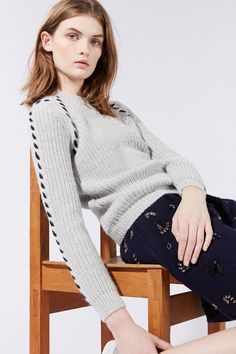 sleeve knitting - Vanessa Bruno collection Athé H15/16