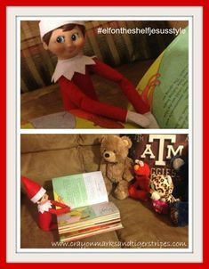 Elf teaching about sharing the gospel with others #elfontheshelfjesusstyle