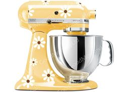 Looking for the right decals for my Kitchen Aid ... Daisy Mixer Decal Kit  KitchenAid Stand Mixer by GoodMommyLtd, $14.99