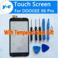 DOOGEE X6 Pro Touch Screen 100% New Digitizer Glass Panel Replacement For Doogee X6 Pro 5.5inch Mobile Phone-Free Shipping