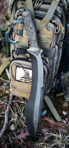 Jericoh Blade Works Mammoth Mk XIV Fixed Knife