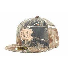 save off 57277 64501 North Carolina Tar Heels New Era 59FIFTY NCAA Real Tree Cap Hat 25.00