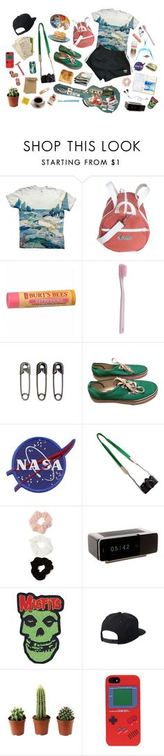 """""""summer camp leader"""" by kampow ❤ liked on Polyvore featuring Burt's Bees, Paul Smith, Vans, Toast, Forever 21, Jil Sander, CO, Jonas Damon, Quiksilver and Carlton"""