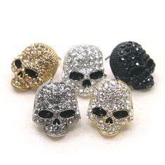 Er823 Cubic Skull Earring Swarovski Crystal Skull Earrings, Skull Jewelry, Diamond Earrings, Skull Pendant, Swarovski Crystal Earrings, Tracking Number, Druzy Ring, Free Gifts, Life