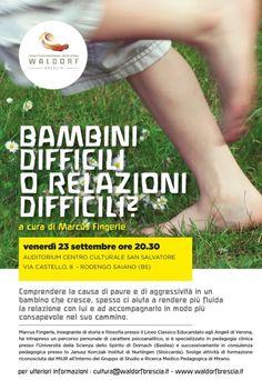 Bambini Difficili o Relazioni Difficili a Rodengo Saiano http://www.panesalamina.com/2016/51309-bambini-difficili-o-relazioni-difficili-a-rodengo-saiano.html