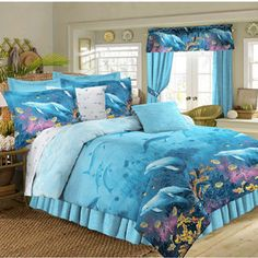 Shop For Dolphin Cove 4 Piece Comforter Set. Get Free Shipping At Overstock.