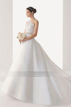 Prinzessin Stil Schönes Brautkleid mit Eine Schulter - http://www.mein-traumkleid.com/prinzessin-stil-schoenes-brautkleid-mit-eine-schulter-wdme0018