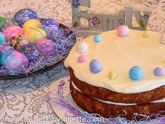 Carrot Cake. Best carrot cake I've ever had and for Easter it was a big hit. Everyone wanted seconds.