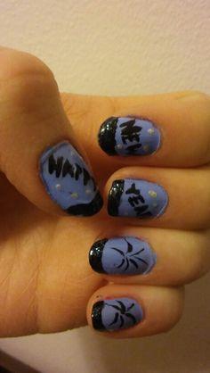 #nails #nailart #happynewyear #newyear #blueblack ✨
